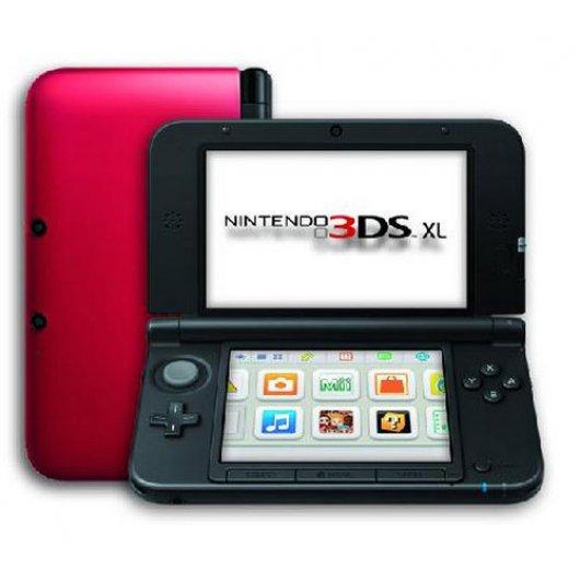 Nintendo 3ds Xl Roja Pccomponentes