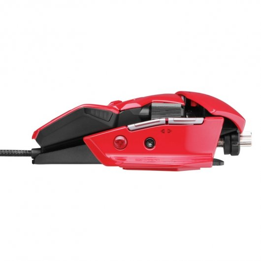 Mad Catz R.A.T. 5 Gaming Mouse Rojo