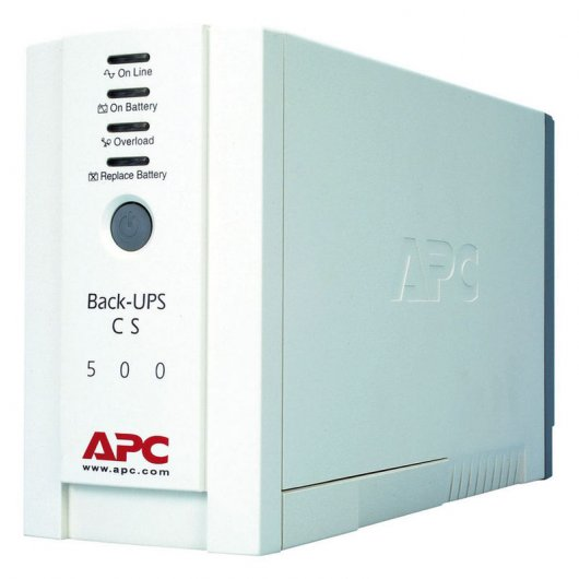 APC Black-UPS CS 500VA 230V