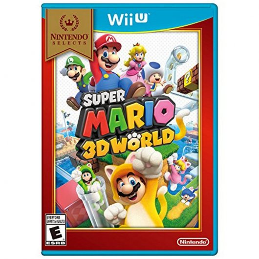 Mario 3D World Select  WII U