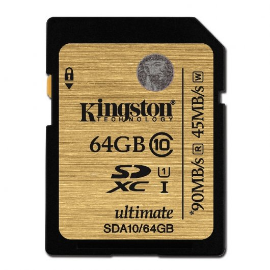 Kingston Ultimate SDXC 64GB Clase 10 UHS-1