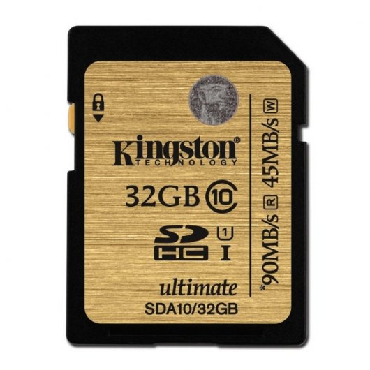 Kingston Ultimate SDHC 32GB Clase 10 UHS-1