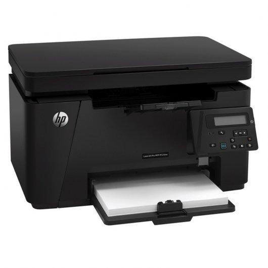HP LaserJet Pro MFP M125nw WiFi+Red