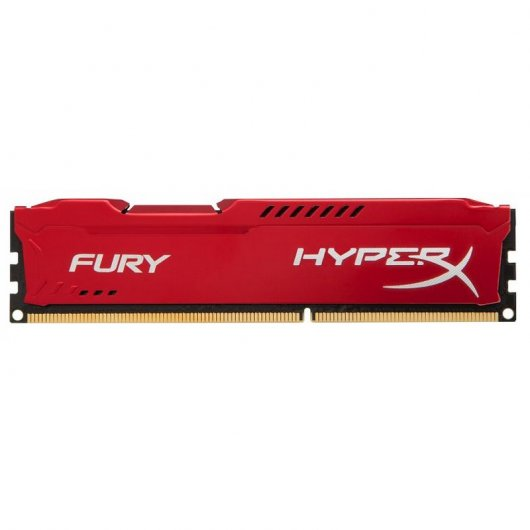 Kingston HyperX Fury Red DDR3 1600MHz PC3-12800 8GB CL10