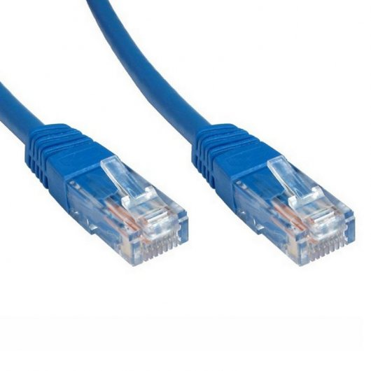 Cable de Red UTP RJ45 Cat 6e 1m Azul