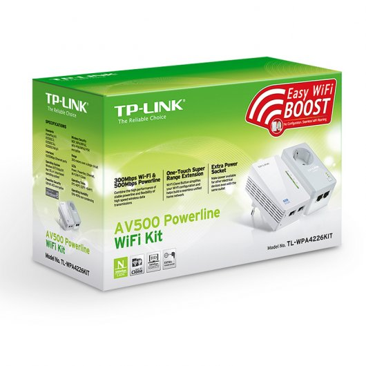 TP-LINK TL-WPA4226KIT Powerline AV500 Wireless
