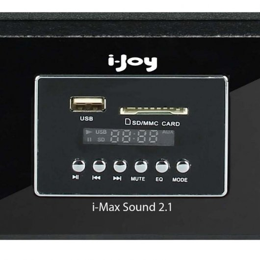 Max Sound 2.1 Barra sonido + Subwoofer 60W Bluetooth