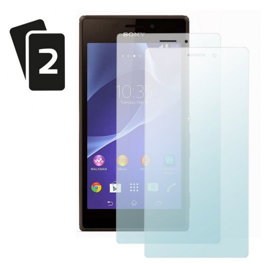 Protector Pantalla Sony Xperia M2 Pack 2 Unid