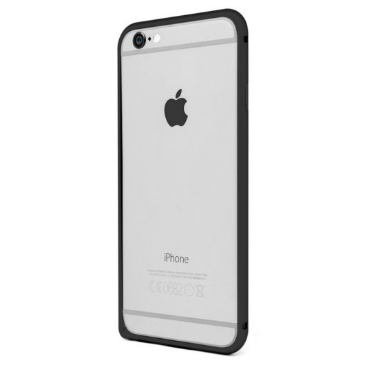 Bumper Pro Aluminio Negro para iPhone 6 Plus