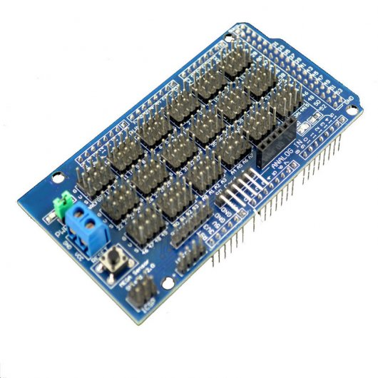 Placa Sensor Shield V1 Compatible con Arduino