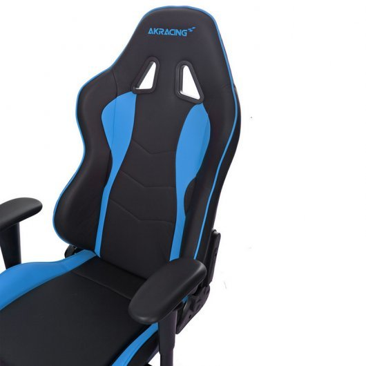 AKRACING Nitro Silla Gaming Negra/Azul