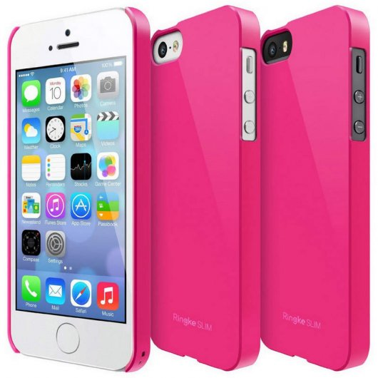 Rearth Ringke Slim Rosa para iPhone 5S