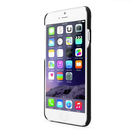 Unotec Funda Metal Dorada para iPhone 6