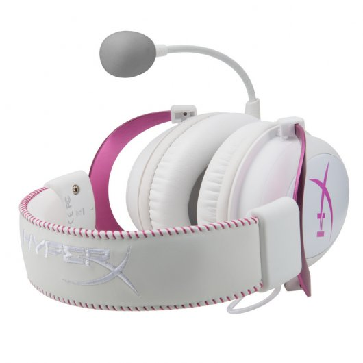 Kingston HyperX Cloud II Auriculares Gaming Rosa