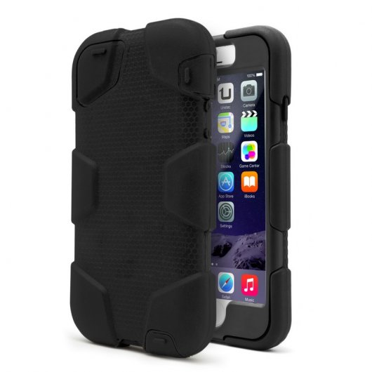 Funda Armor Plus Negra para iPhone 6