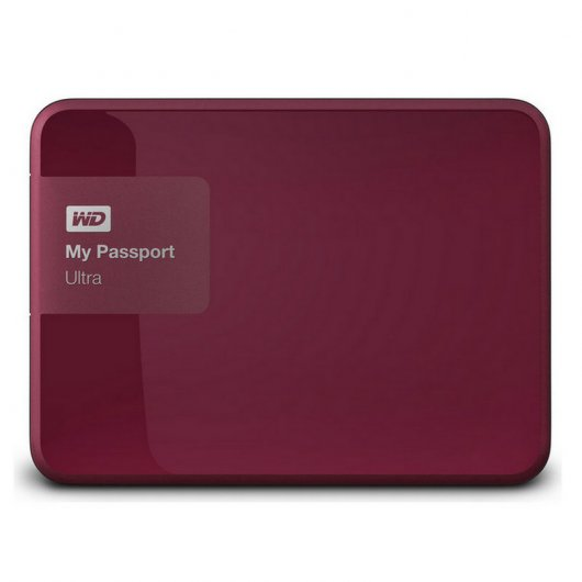 "WD My Passport Ultra 3TB 2.5"" USB 3.0 Wild Berry"