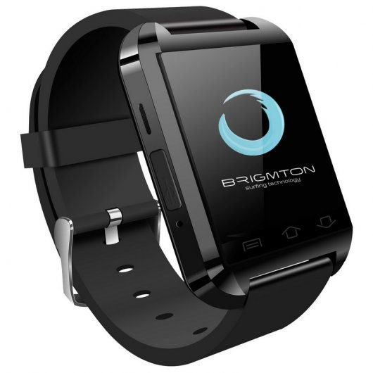 Brigmton BWATCH-BT2 SmartWatch Bluetooth Negro
