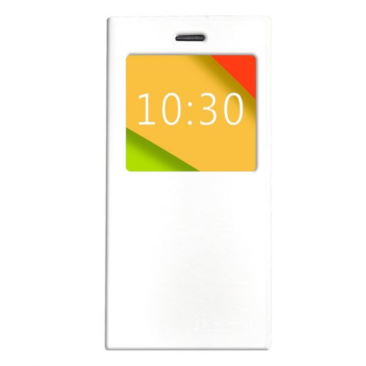 Brigmton Funda View Cover Blanca para BPhone-550QC