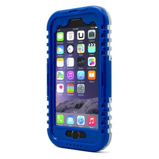 a3649d79859 Unotec Funda Waterproof para iPhone 6 Plus