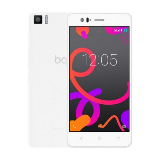 Bq Aquaris M5 4G 32GB Blanco Libre