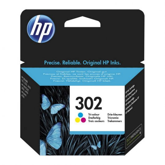 HP F6U65AE Nº 302 Color