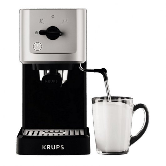 Krups XP344010 Steam Pump Compact Cafetera Expreso Manual