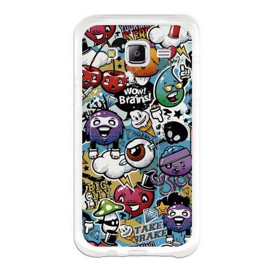 BeCool Funda Grafiti para Samsung Galaxy J5