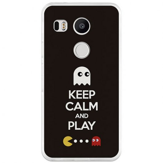 BeCool Funda Keep Calm para Nexus 5X