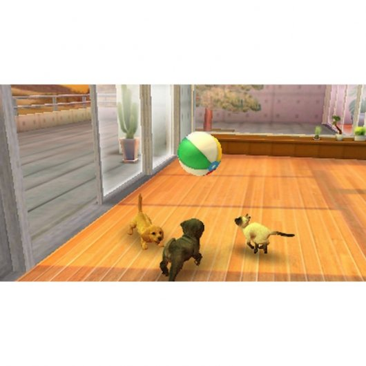 Nintendo Nintendogs + Cats  Golden Retriever Select 3DS