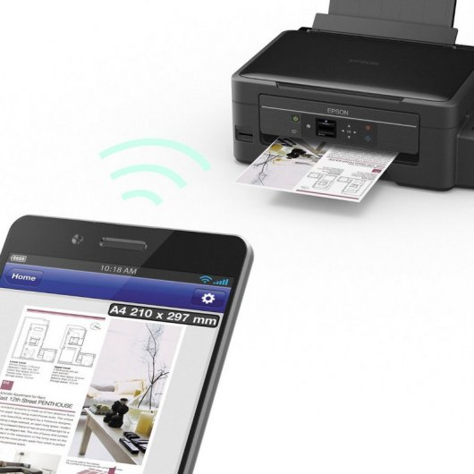 Epson EcoTank ET-2550 Multifunción Color WiFi