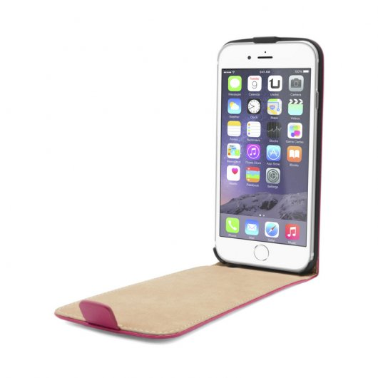 Funda Flip Vertical Rosa para iPhone 6/6S