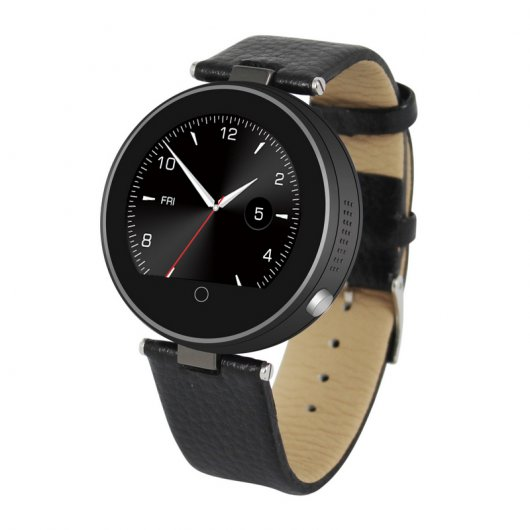 Unotec Watch-BT Round Smartwatch Bluetooth