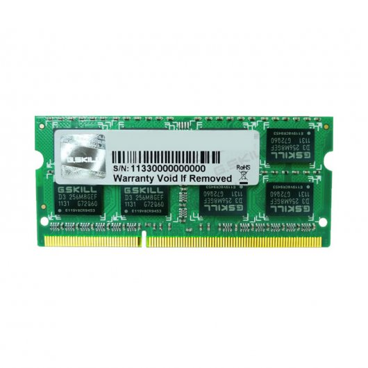 G.Skill SO-DIMM DDR3 1600 PC3-12800 4GB CL11 Para Mac