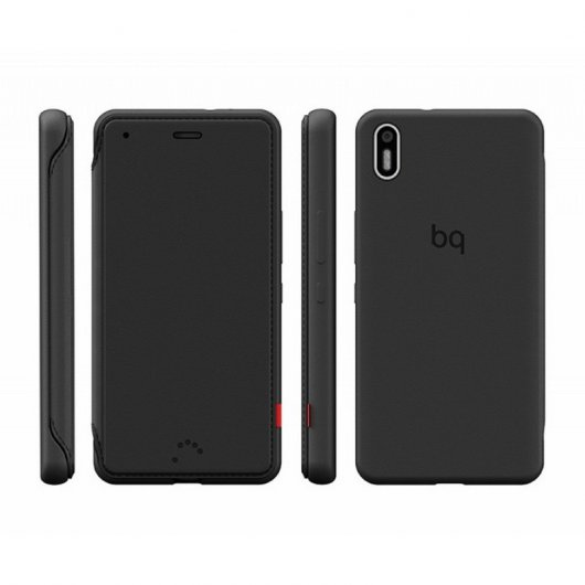 Bq Funda Aquaris X5 Black Duo Case