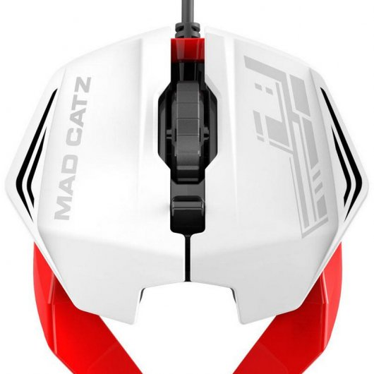 Mad Catz R.A.T 1 Gaming Mouse 3500 DPI Blanco/Rojo
