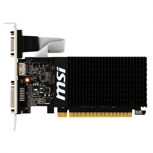 MSI GeForce GT710 2GB DDR3 Low Profile