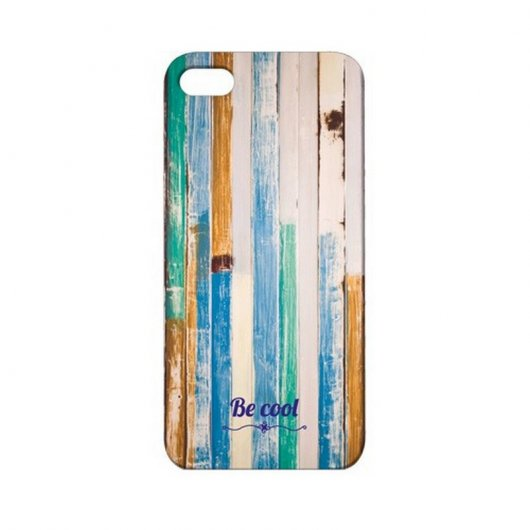 BeCool Funda Seaside Wood para iPhone5/5S
