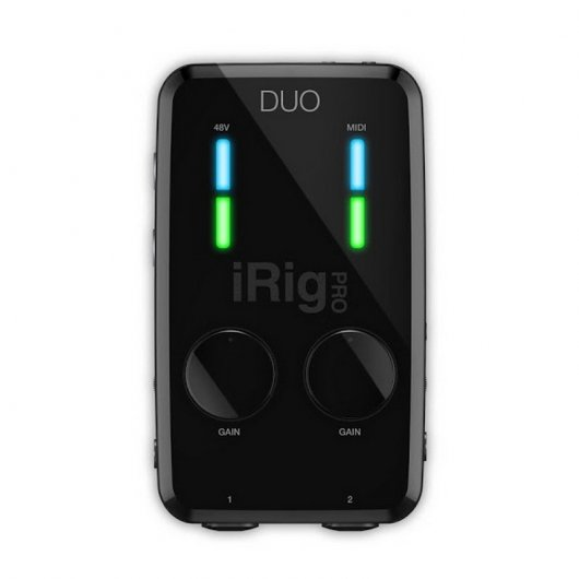 IK Multimedia iRig Pro DUO Interfaz MIDI Dual