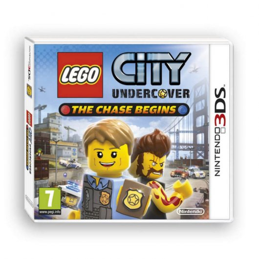 Lego City Undercover Chase 3DS