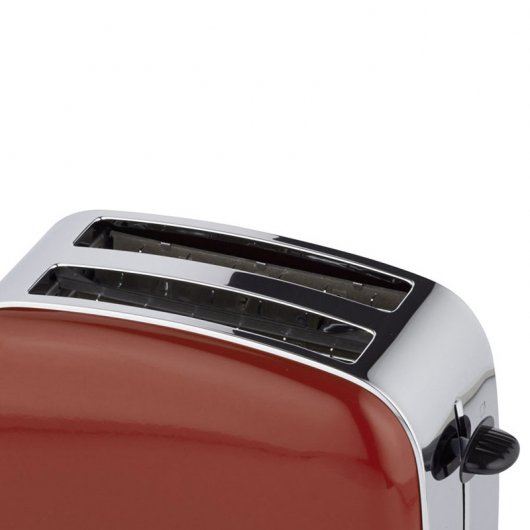 Russell Hobbs 18951-56 Flame Red Tostadora 1100W