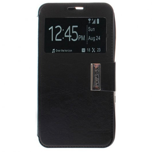 Funda Libro View Cover para Alcatel One Touch Pop 3 5.5