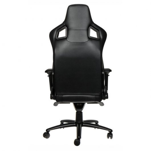 Noblechairs epic silla gaming cuero negra for Sillas gaming black friday